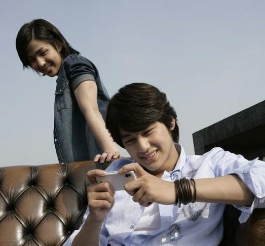 05. Kim kibum and kim bum LG Star Holic OZ